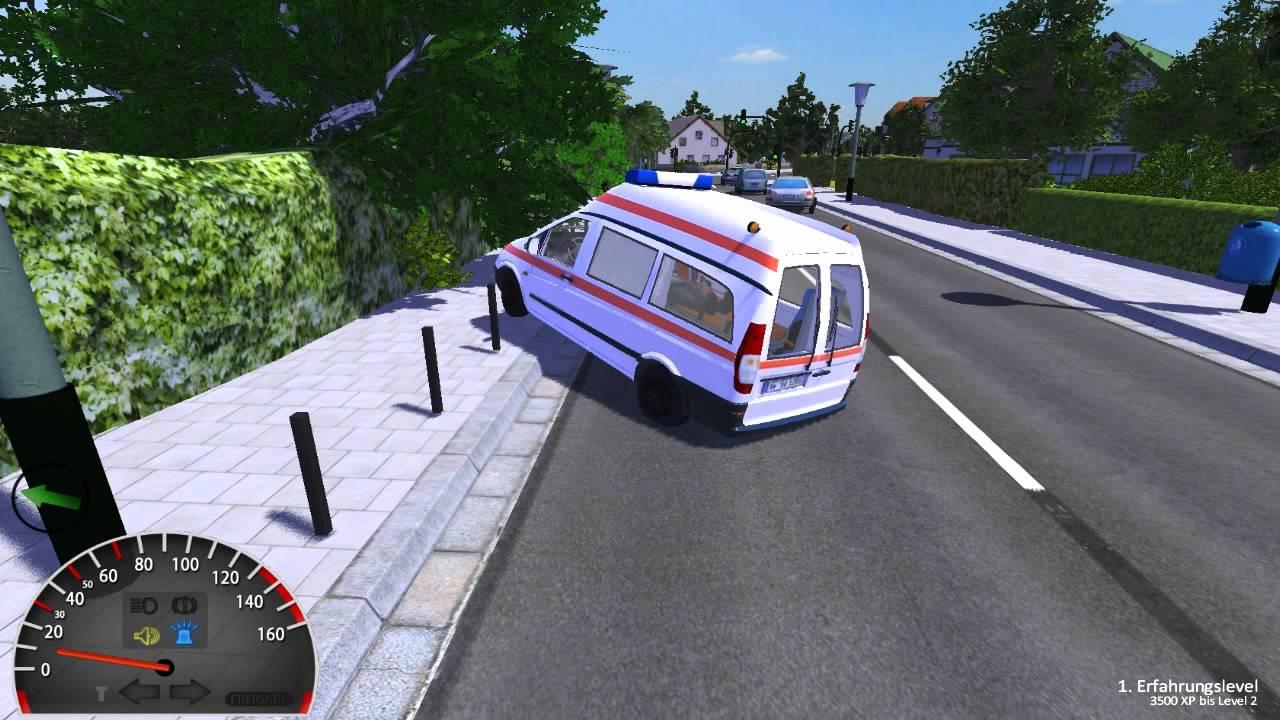 rettungswagen simulator 2012