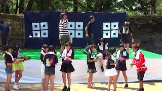 きみともキャンディ&丸亀じゃんご 水鉄砲大合戦!! 2017.8.27 丸亀城サ...
