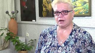 2017-07-21 г. Брест. Выставка в БелАРТ. Новости на Буг-ТВ.
