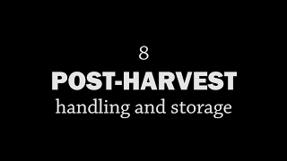 Rotationally Raised - Post-Harvest: Handling and Storage