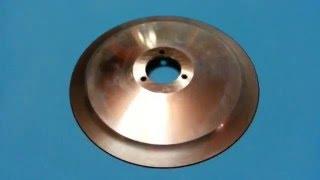 Нож дисковый 220 мм нержавейка для слайсера Sirman