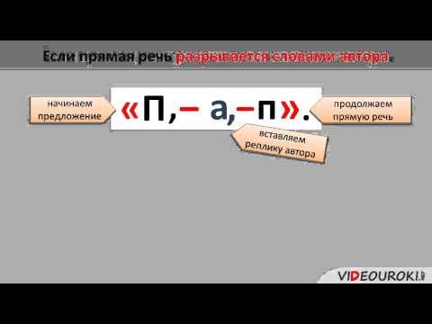 Как записать прямую речь в тексте