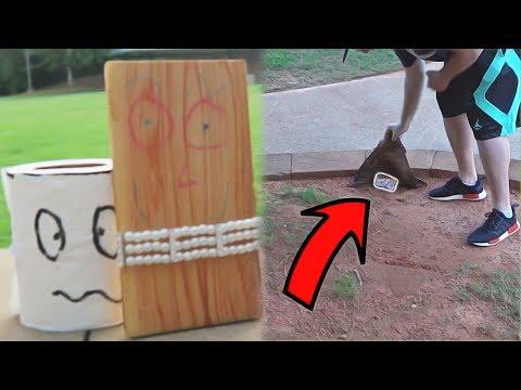 SCAVENGER HUNT CHALLENGE AT A PARK!!