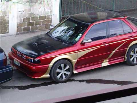 Nissan Sentra B13 Tunning - YouTube