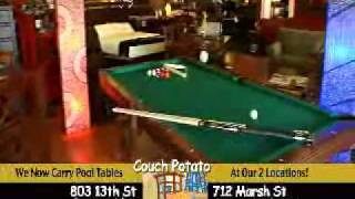 Couch Potato Furniture Pool Table