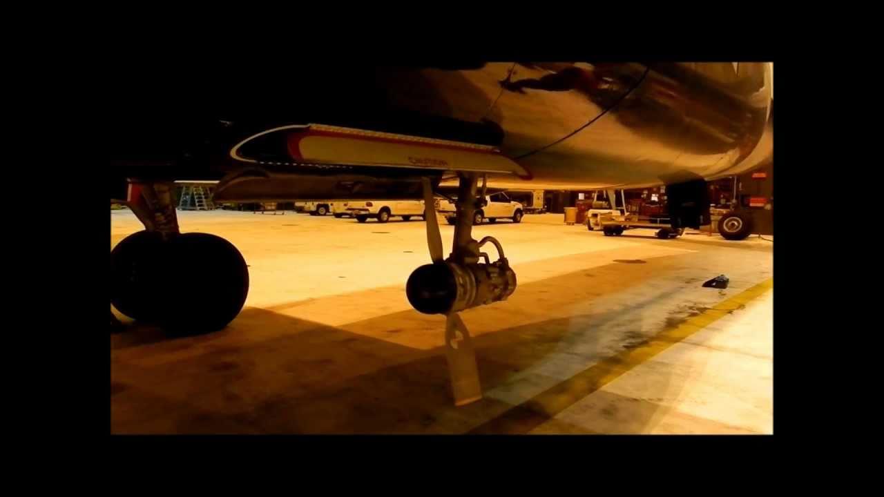 A320 Ram Air Turbine Test Youtube