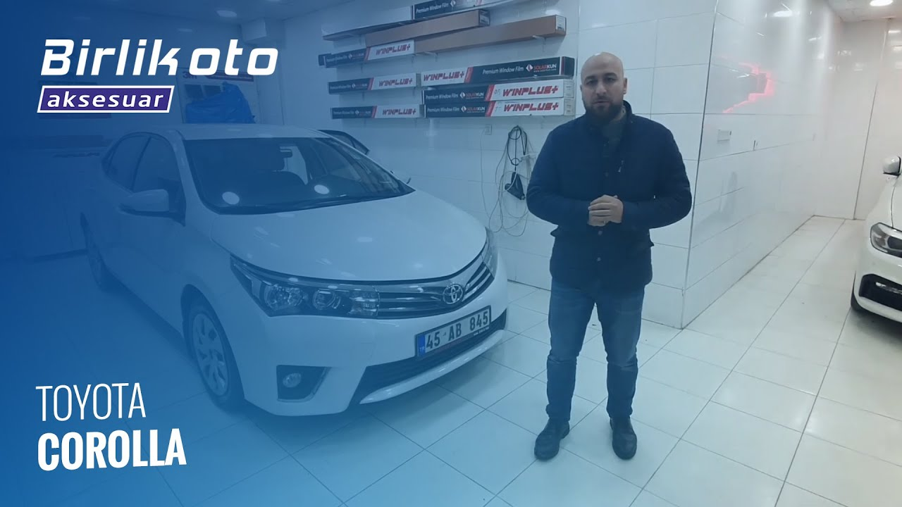 Toyota Corolla Ozel Beden Koltuk Kilifi Detayli Temizlik Youtube