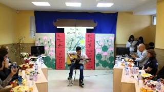 Подмосковный вечера (Chiều Moskva)-Guitar