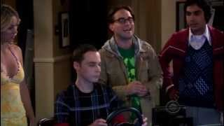 The Big Bang Theory - Sheldon Cooper tries to get a drivers license (Very Funny)