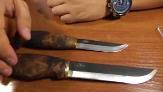 Пууко и Леукку от Ahti из Финляндии. Дорогие русскому сердцу традиционные финские ножи.
