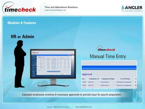 Employee Time Attendance System Software | Attendance Tracking Software - TimeCheck Software