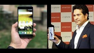 Sachin Tendulkar SRT Smartphone By Smartron. Overview