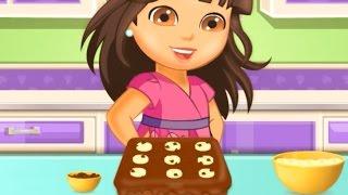 Dora Chocolat Gâteau à la Banane - Recette de Cuisine, de dessin animé de Jeu pour les Enfants - Dora l'exploratrice Episode