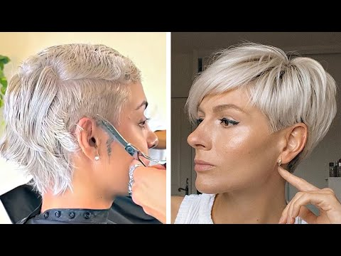 Trendy Hairstyles 2019 | Top 10 Hottest Pixie Cut For Women To Try 2019 | Short Haircut Compilation