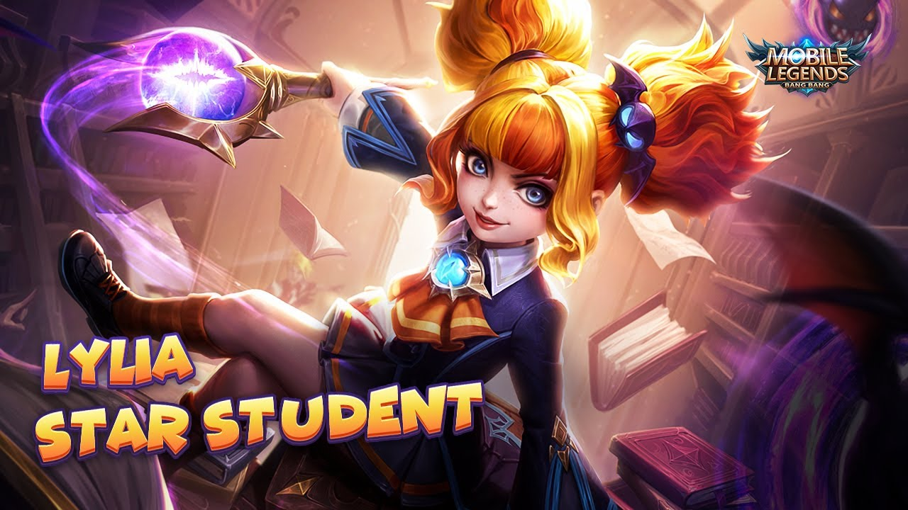 Lylia S New Skin Star Student Mobile Legends Bang Bang Youtube