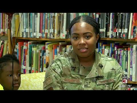 Edgar Martin Middle school student reunited with military parents