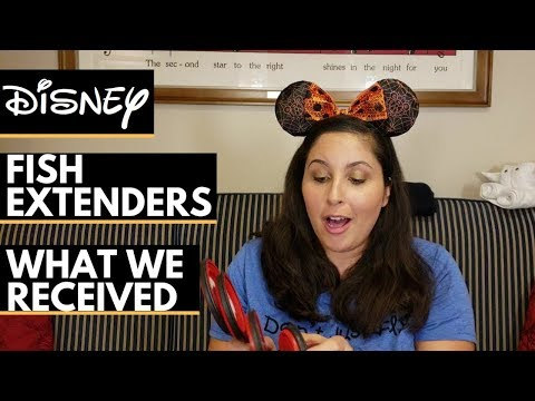 Disney Cruise Fish Extender Gift Ideas What We Received