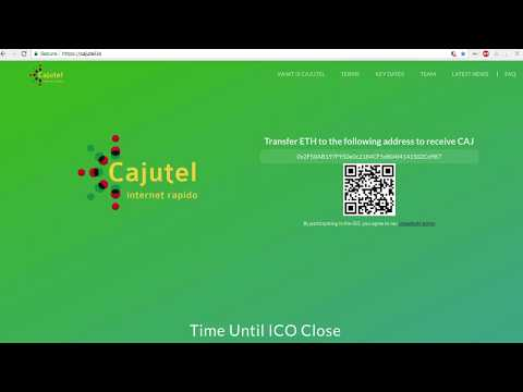 MANECO64 - Cajutel Token ICO Explained by CEO Andreas Fink.