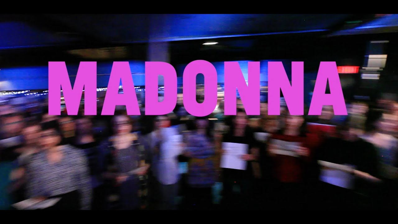 Choir! sings Madonna - Express Yourself - YouTube