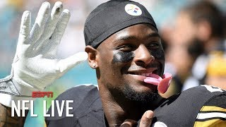 Le'Veon Bell to become a free agent, Steelers pass on franchise tag   NFL Live