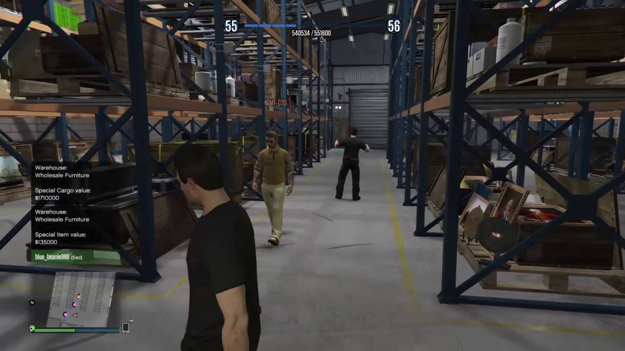 how to sell cargo warehouse gta 5