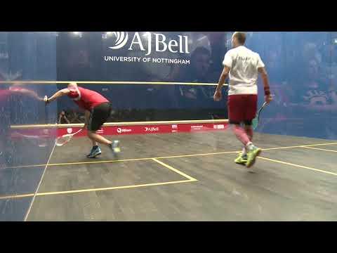 Match 10 Semi Final Gregory Gaultier (FRA) Vs  Nicolas Mueller (SUI)