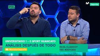 Después de Todo: Universitario de Deportes 1-0 Sport Huancayo | ANÁLISIS triunfo Liga 1 Movistar