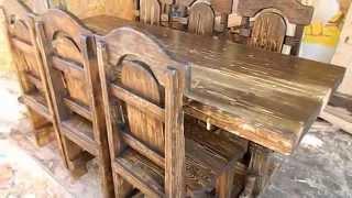 Декоративная мебель из массива дерева(, 2015-03-13T16:08:39.000Z)