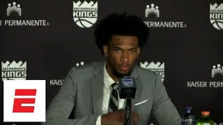 [FULL] Marvin Bagley III's first press conference as a Sacramento King | ESPN