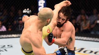 Top Finishes From UFC 266 Fighters