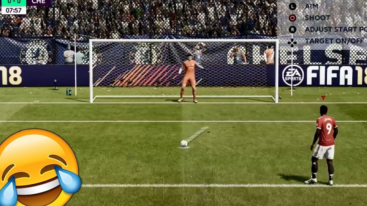 Fifa 18 online penalties como cambiar los botones del teclado fifa18