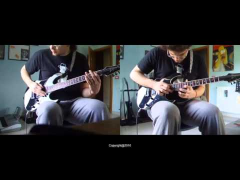 Improvisation in A min ( With baritone guitar )