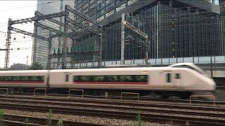 【ときわ】E657系 特急 ときわ@新橋〜品川