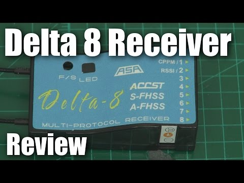 FrSky Delta 8 receiver (review)