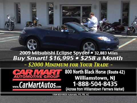 """Buy Smart $2000 Minimum Trade-In Event"" Car Mart, Williamstown NJ"