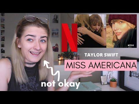 Taylor Swift   Miss Americana Trailer REACTION