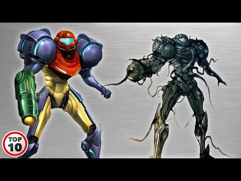 Top 10 Alternate Versions Of Samus Aran's Power Suit