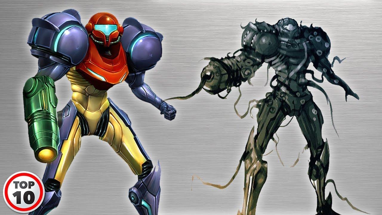 Top 10 Alternate Versions Of Samus Aran S Power Suit