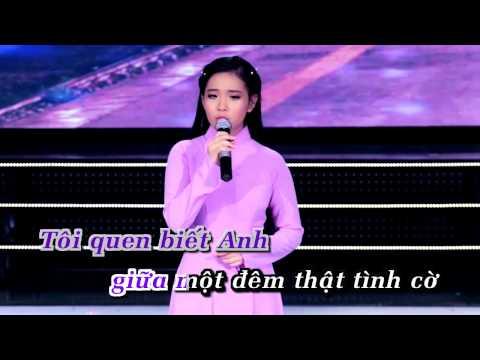 [KARAOKE] Người Tình Không Đến - Quỳnh Trang