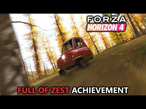 Forza Horizon 4 Fortune Island - Peel P50 Forest Trailblazer - Full of Zest Achievement Guide thumbnail