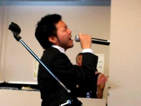 愛をこめて花束を Superfly ~男版~ 結婚式余興 20090705 恵比寿LIVING ROOM