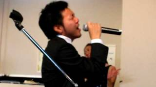 愛をこめて花束を Superfly 〜男版〜 結婚式余興 20090705 恵比寿LIVING ROOM