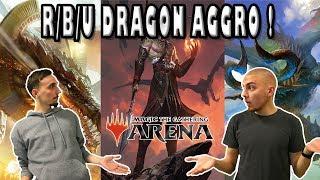 R/B/U DRAGON AGGRO : UN DECK D'ENFANT ! DES DRAGONS ET DES SARKHANS !