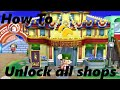 How To: Unlock all the Shops in ACNL