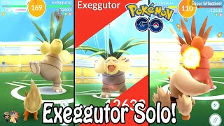 Pokémon GO | Exeggutor Raid Boss Solo 12,000 CP (Level 2)