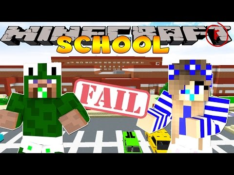 Minecraft School-BABY CARLY GETS DETENTION!!