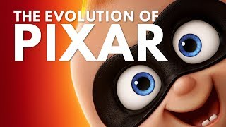 Evolution of Pixar Movies (Toy Story to Incredibles 2)
