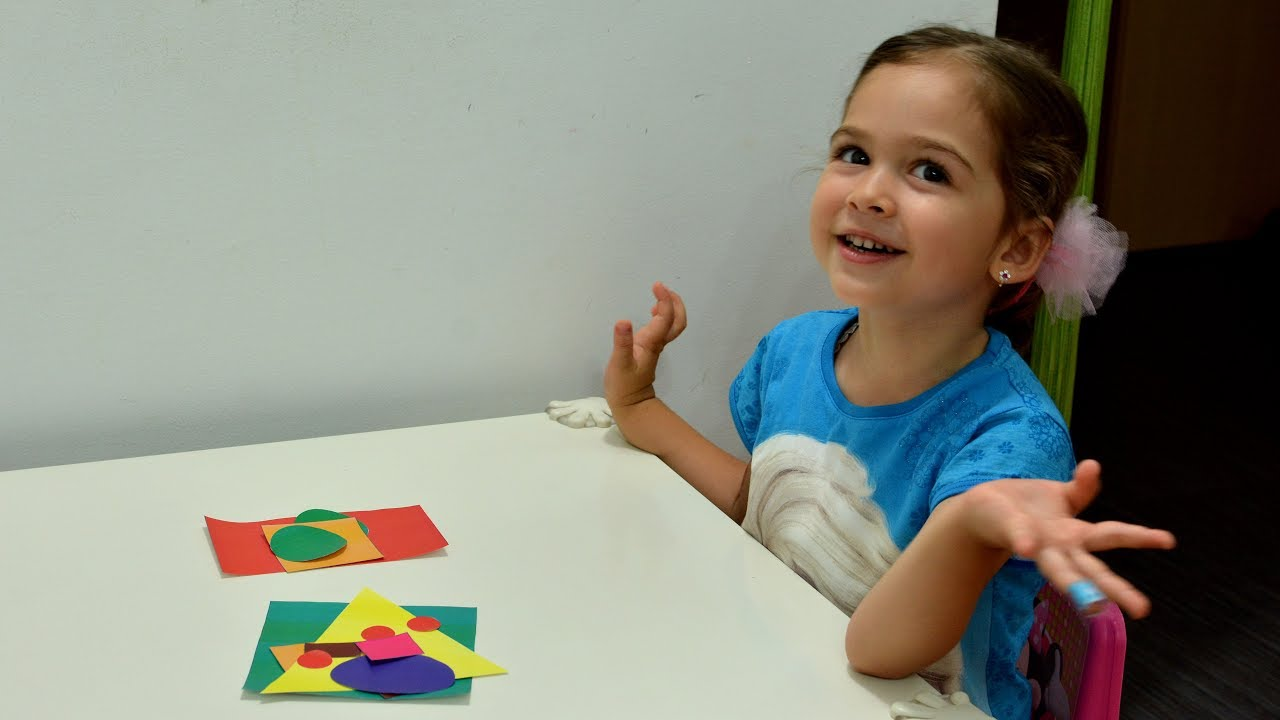 Learn Shapes And Colors Build House Fun Montessori