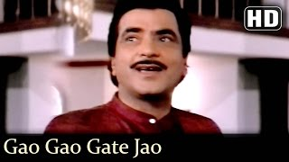Gao Gao Gate Jao - Jeetendra - Moushumi - Udhar Ki Zindagi - Hindi Hit Songs - Anand Milind