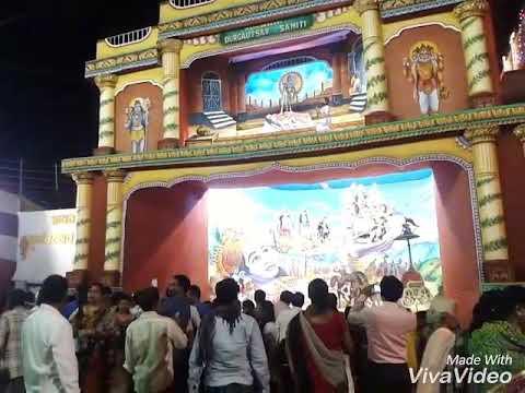 Maa Durga Pandal Bilaspur Chhattisgarh